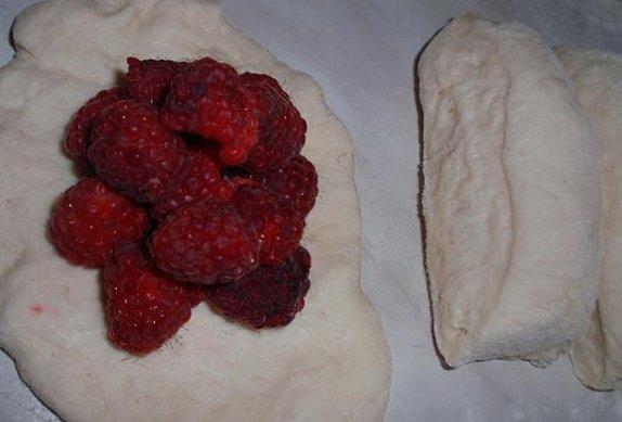 Malinové / ostružinové knedlíky