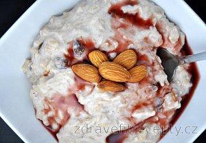 Fit rýže v mléku s mandlemi - Riz a l'amande
