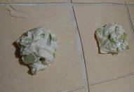 Tvarohové šátečky (závin) s rebarborou