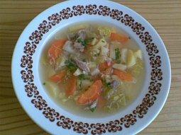 Ovarová polévka se zeleninou
