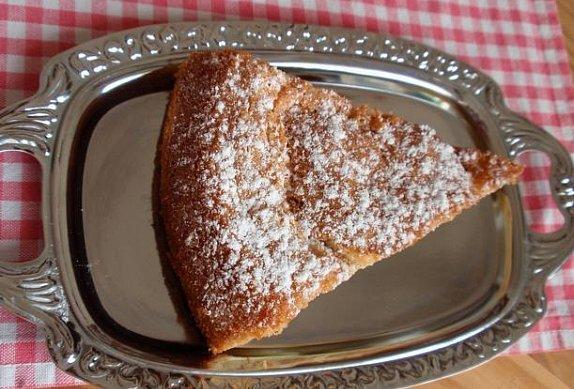 Mandlový dort