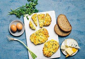 Zapečené chleby se sýrem