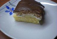 Banánovo - čokoládové řezy