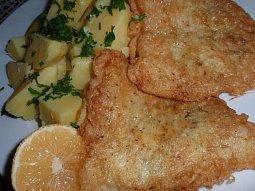 Česnekové filety v těstíčku