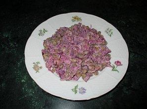 Čočkový salát se zelím