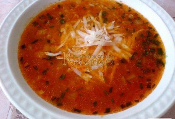 Dobrá rýžová polévka se sýrem