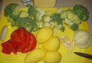 Zapečená brokolice do remosky