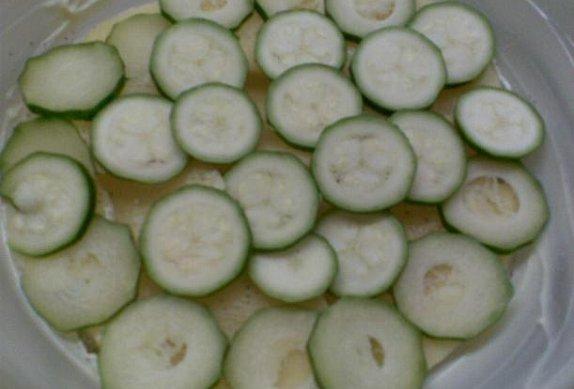 Prokládané brambory s cuketou - zdravě a chutně