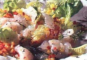 Carpaccio z lososa