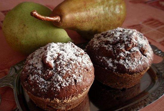 Hruškové muffiny photo-0