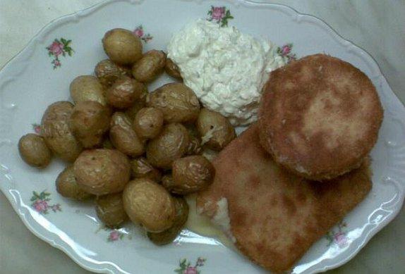 Smažený obalený sýr (eidam, hermelín... )