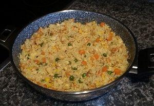Kuřecí rizoto s kari
