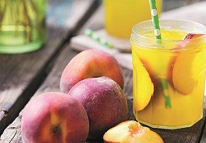 Broskvová limonáda s melounem