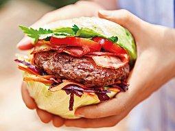 Burger à la dvouručák
