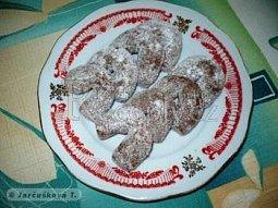 Vanilkové rohlíčky kakaové