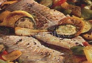 Pečený losos po provensálsku