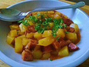 Pikantní bramborový guláš